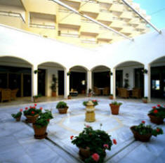 Parador Cadiz patio