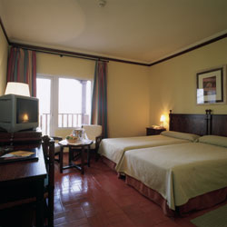 Manzanares Parador bedroom
