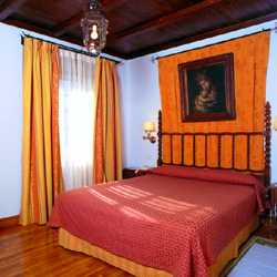 Parador Verin bedroom