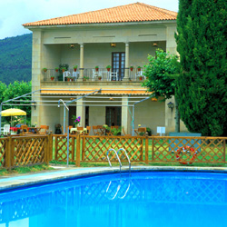 Parador of Verin pool