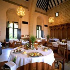 Parador dining room