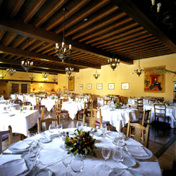 Santillana Del Mar Parador dining room